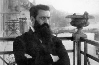 Theodor Herzl, the subject of It Is No Dream