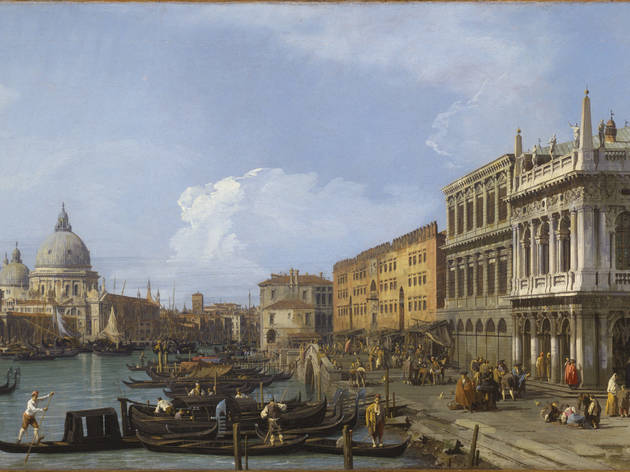 (Canaletto, 'La Piazzetta vers la Pointe de la Douane et le Canal Grande', 1730 / Knutsford, The Egerton of Tatton Park / © NTPL/John Bethell)