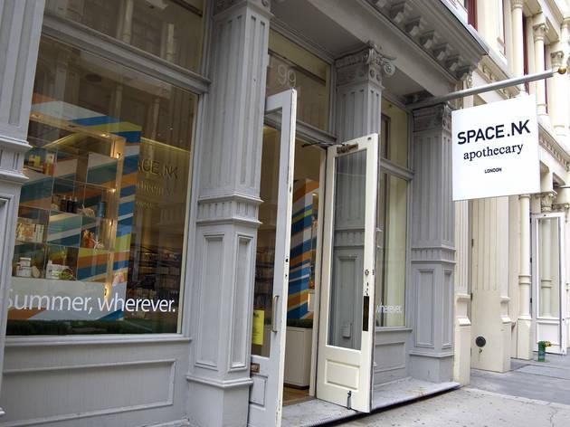 Space NK (Photograph: Virginia Rollison)
