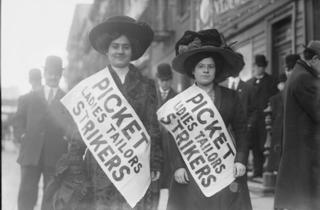 Activist New York (Photograph: Courtesy Library of Congress)