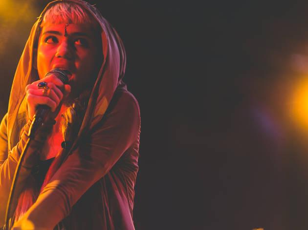 Grimes (Photograph: Loren Wohl)