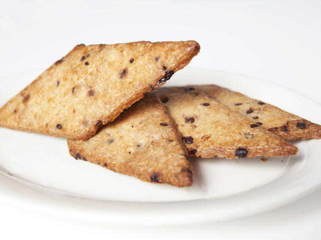 Diamond chocolate-chip shortbread from Bien Cuit