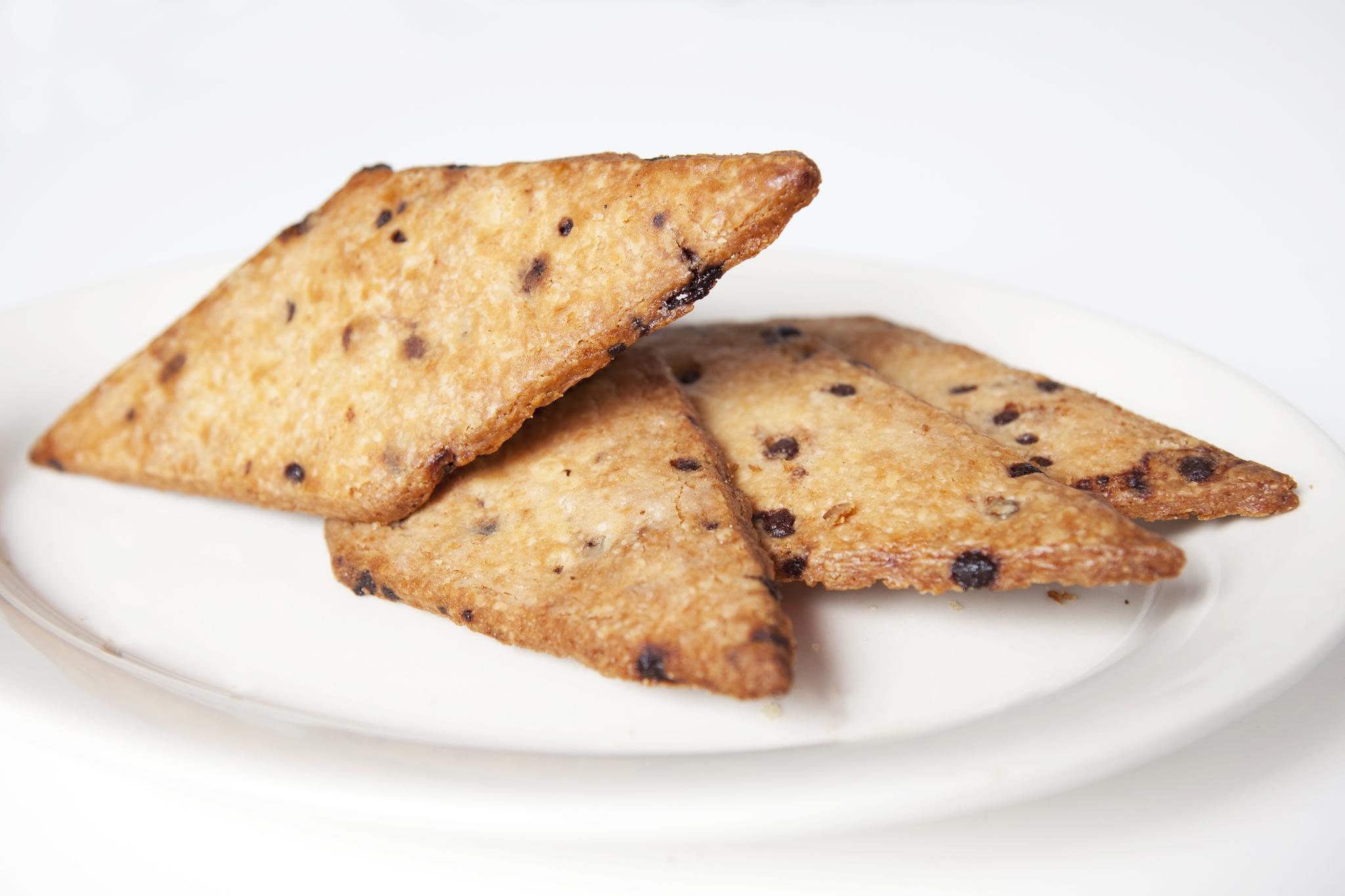 Diamond chocolate-chip shortbread from Bien Cuit