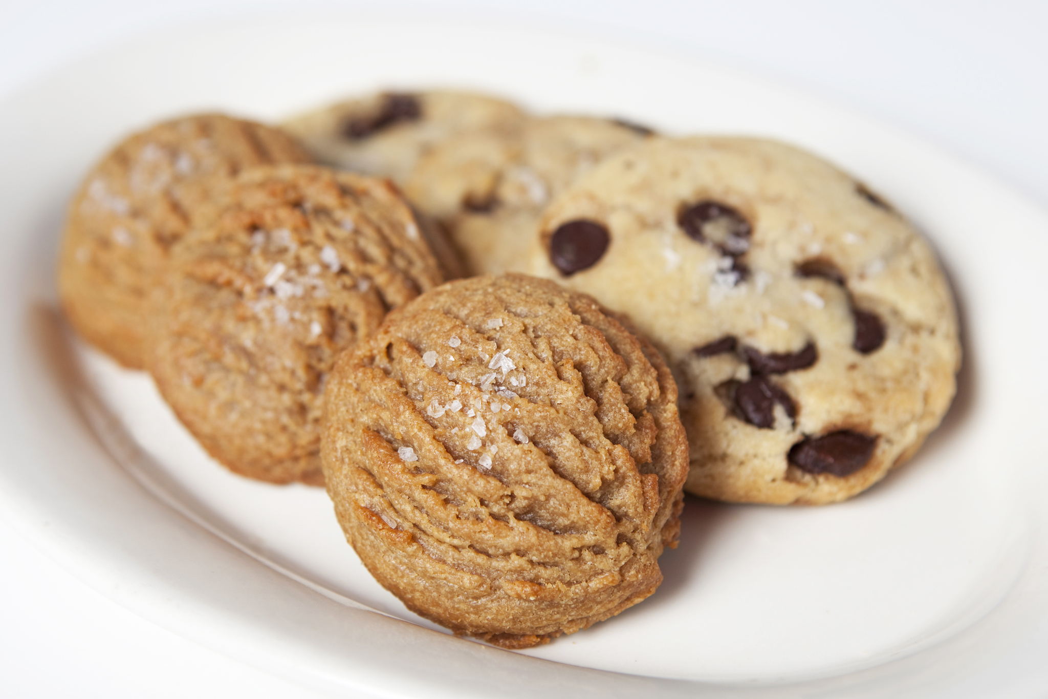Peanut butter cookie from Ovenly