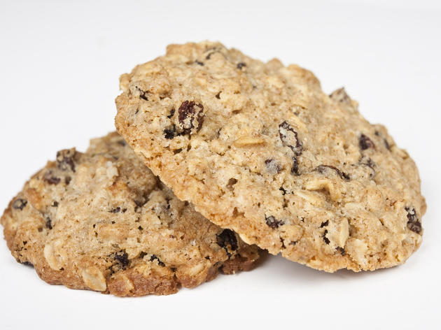 Oatmeal raisin cookie from Kahve
