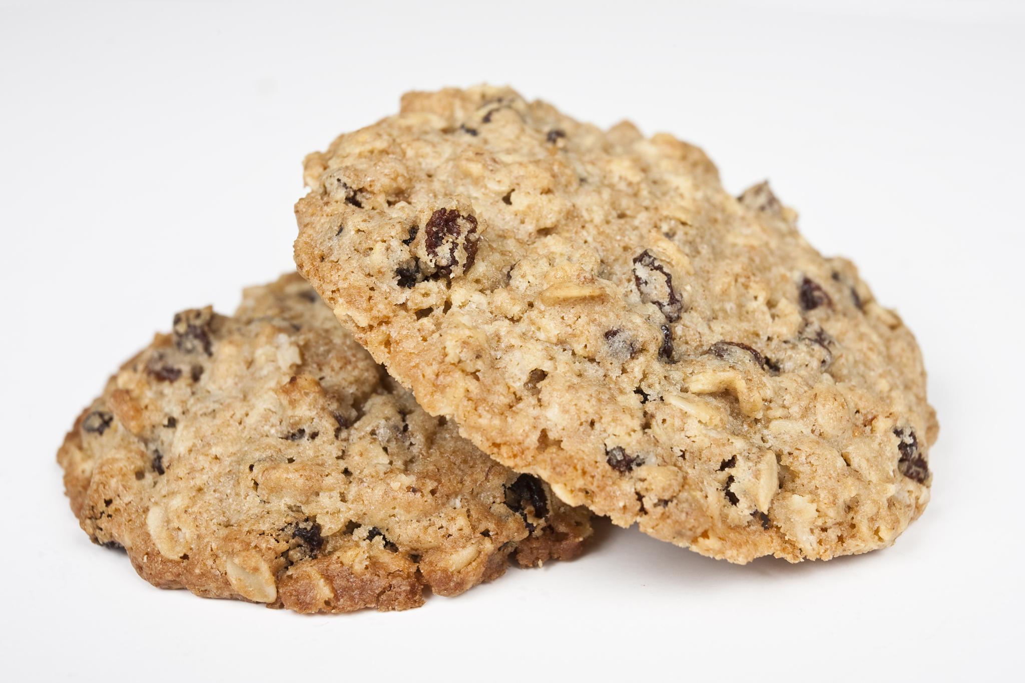 Oatmeal raisin cookie from Kahve