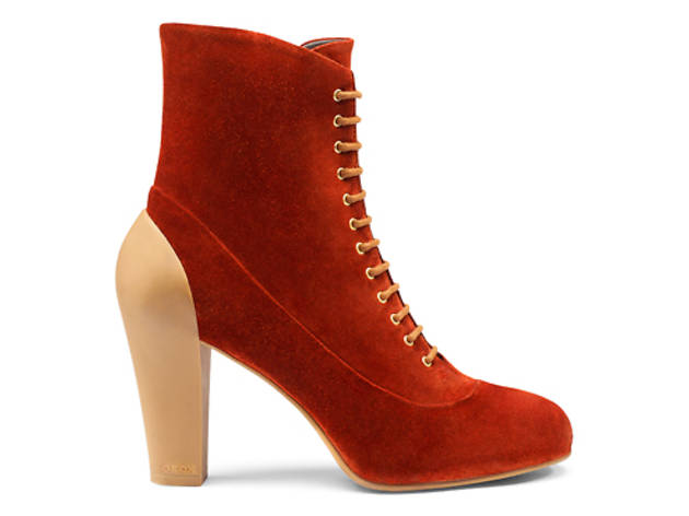 Geox suede lace-up boots, $200