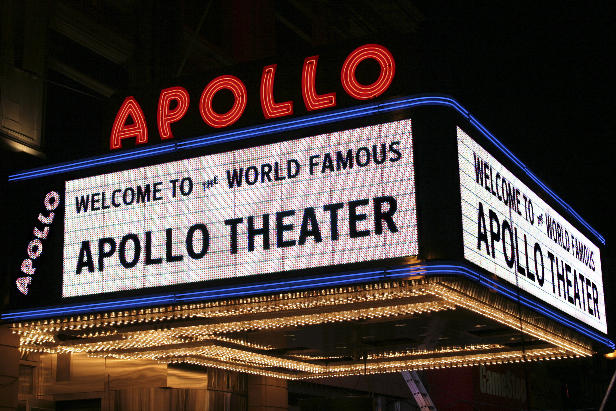 Head to the historic Apollo Theater