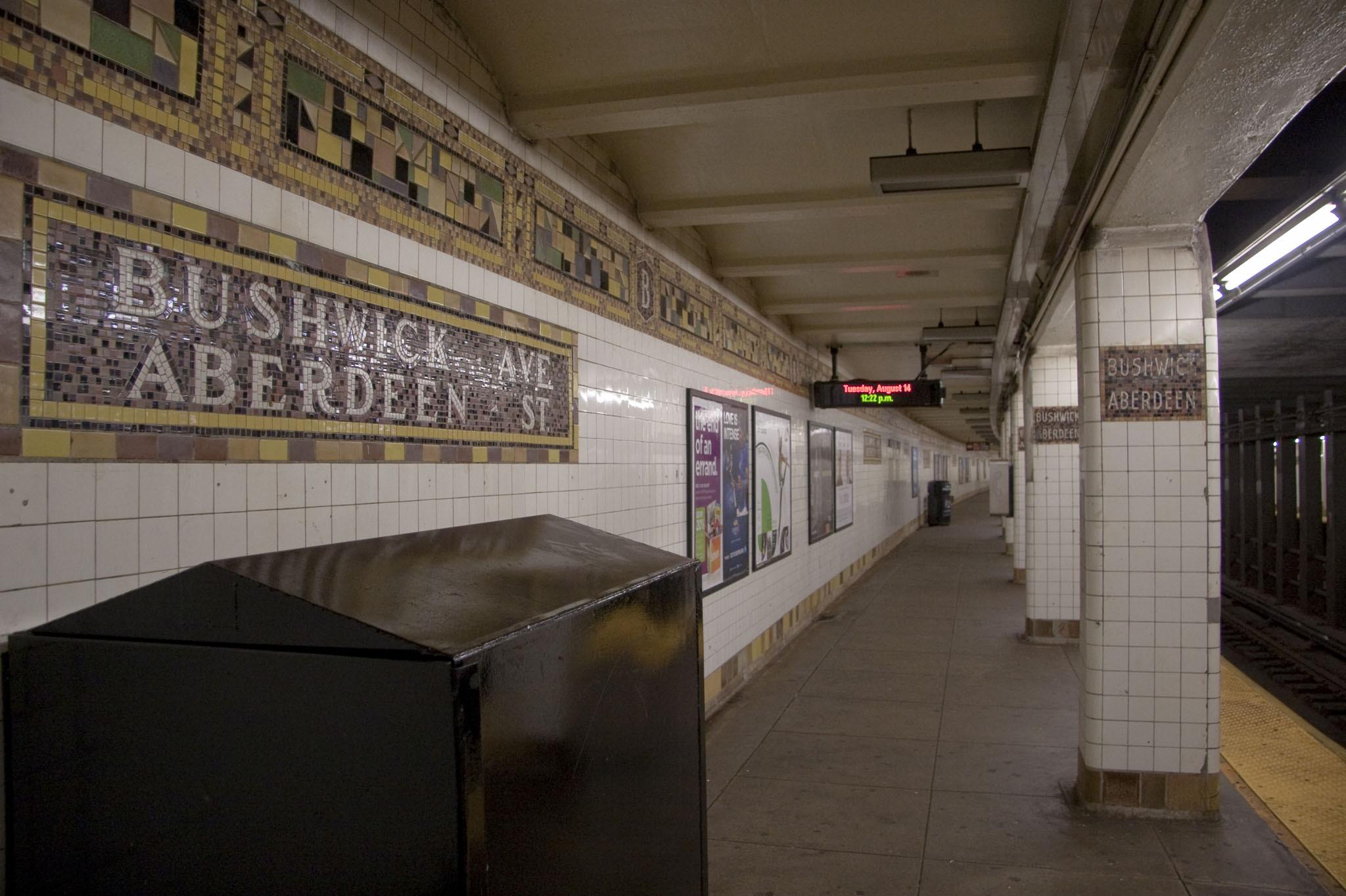 Subways in summer: Is it hotter or cooler belowground?