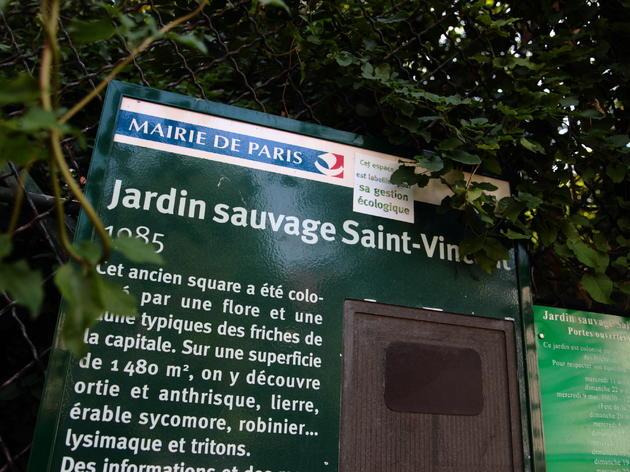 Le Jardin Sauvage Saint-Vincent