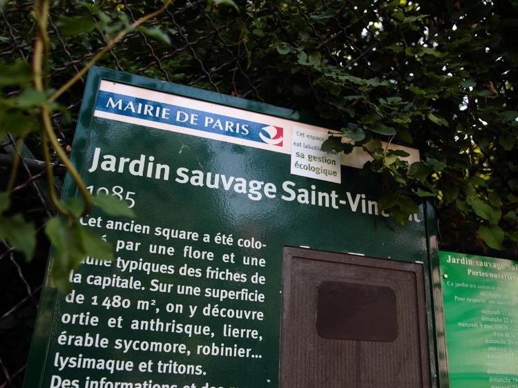 Pleine nature • Le Jardin Sauvage Saint-Vincent