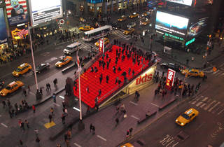 TKTS Booth in Times Square