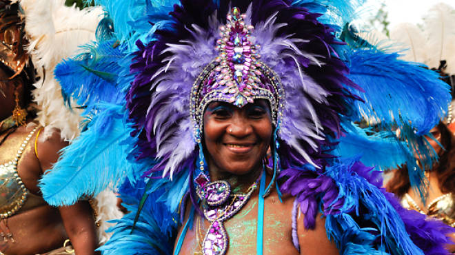 The West Indian American Day Carnival happens Mon 3.