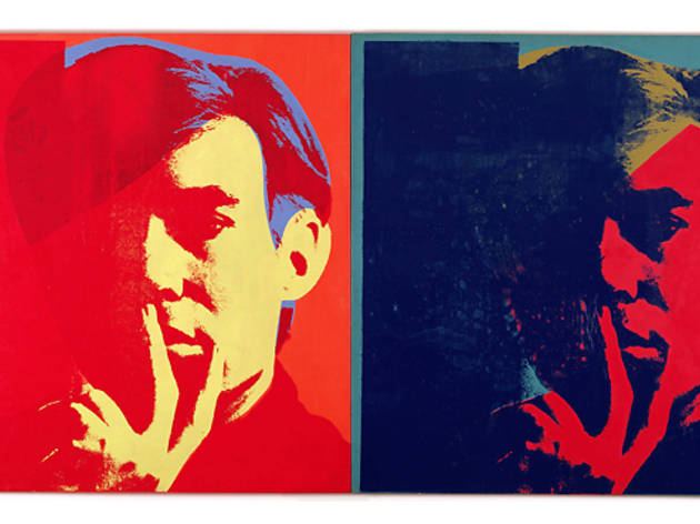 Admire Warhol's influence