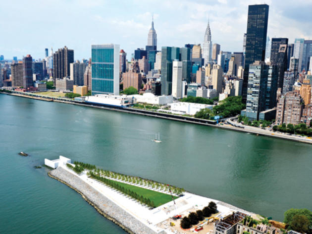 See the Manhattan skyline from a new vantage point