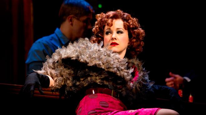 Katie Finneran plays Miss Hannigan in Annie