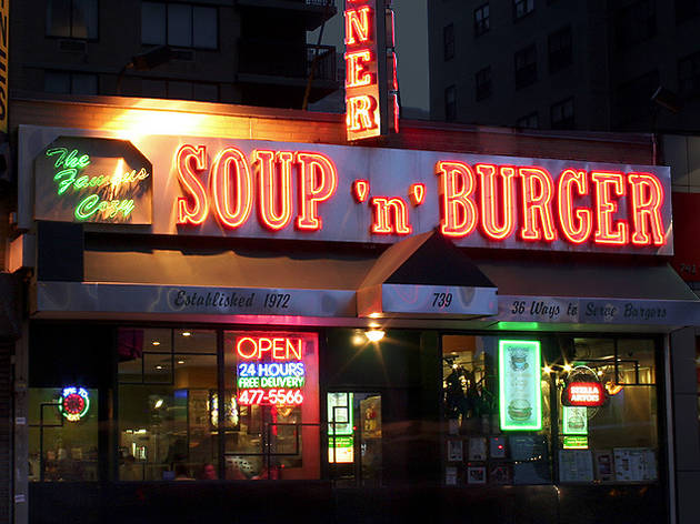Cozy Soup 'n' Burger