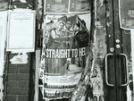 1994 Straight To Hell poster by Dyke Action Machine! (DAM)