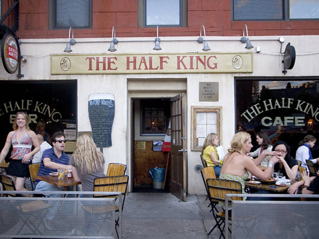 Get lit-erary at The Half King