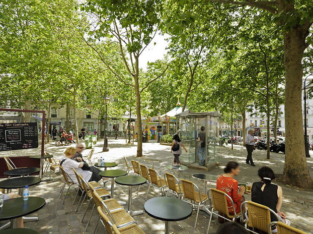 (Place des Abbesses / © Paris Tourist Office : Marc Bertrand)