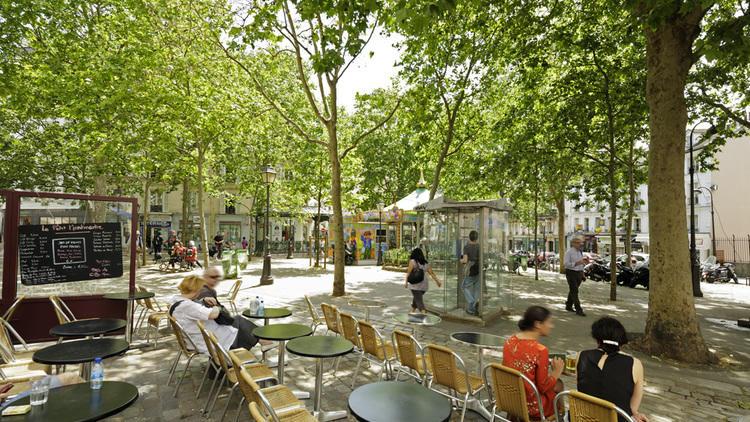 Place des Abbesses / © Paris Tourist Office : Marc Bertrand