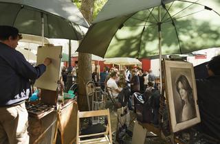 (Peintres Place du Tertre / © Paris Tourist Office - Marc Bertrand)