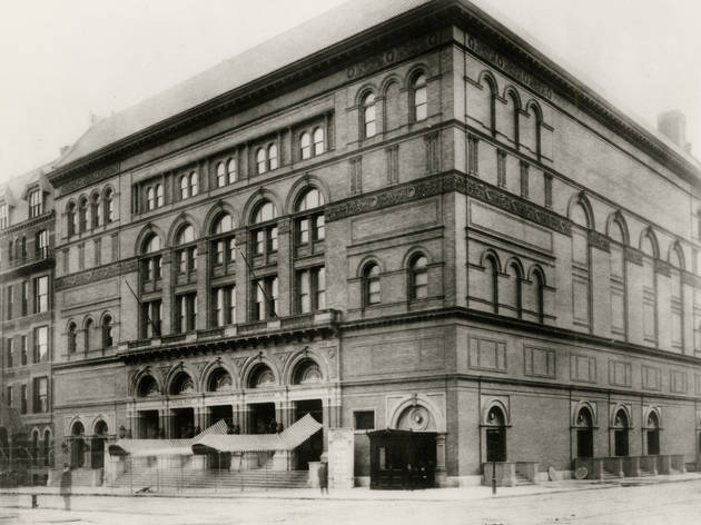 (Photograph courtesy Carnegie Hall Archives)
