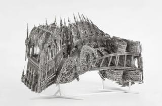 Wim Delvoye : Au Louvre