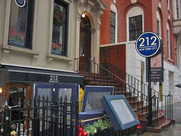 212 Restaurant & Bar (CLOSED)