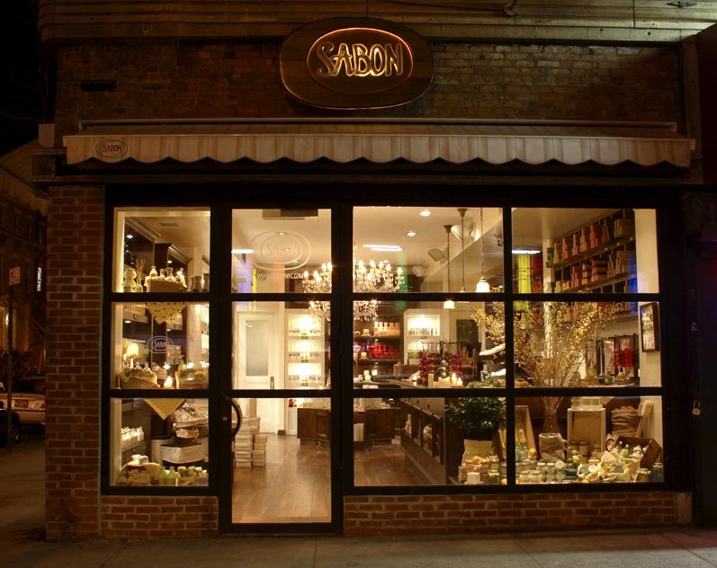 Sabon Shopping In Greenwich Village New York