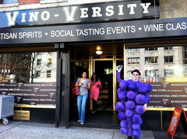 Vino-Versity Wine Tasting