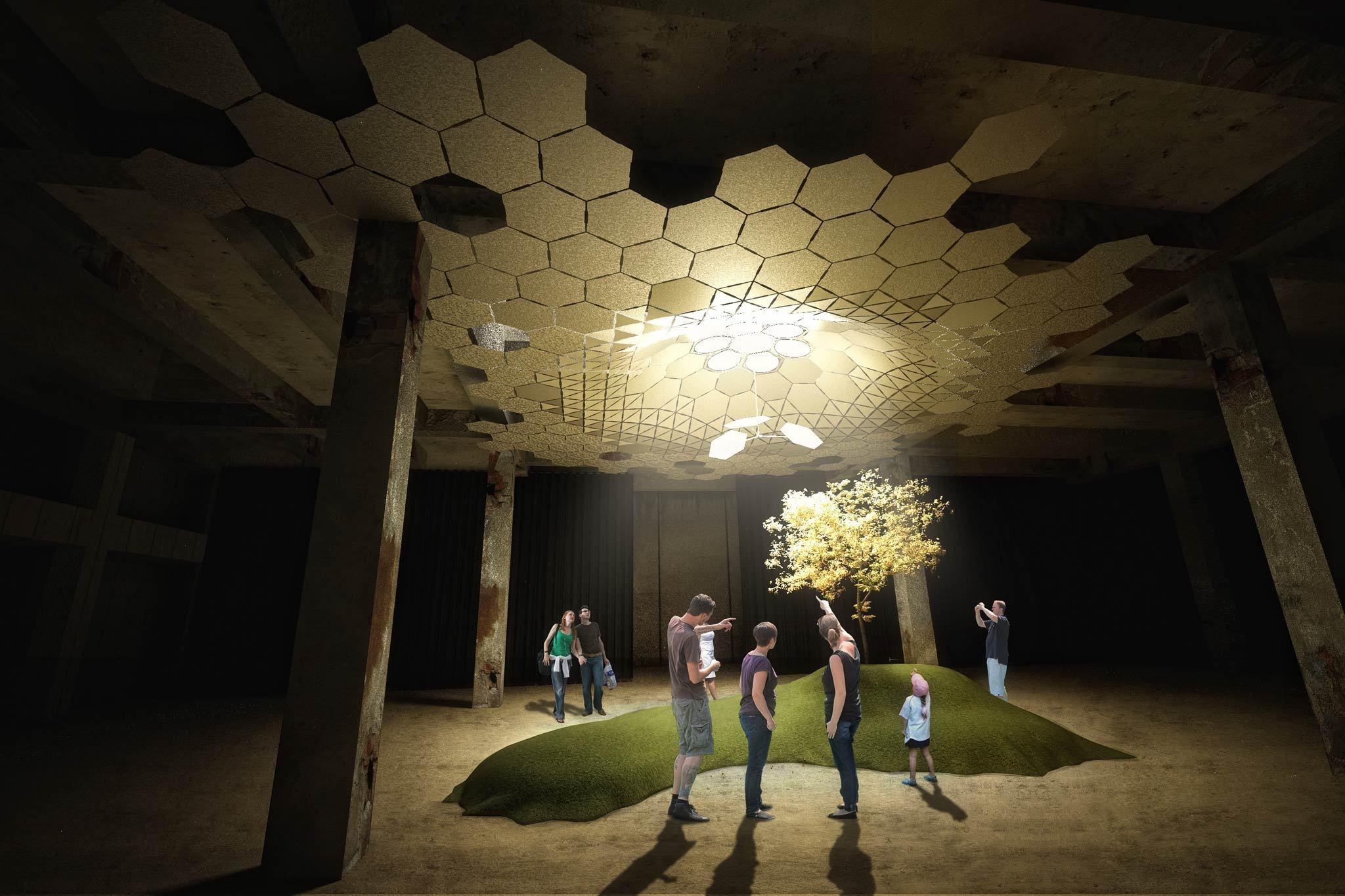 """Imagining the LowLine"" rendering"
