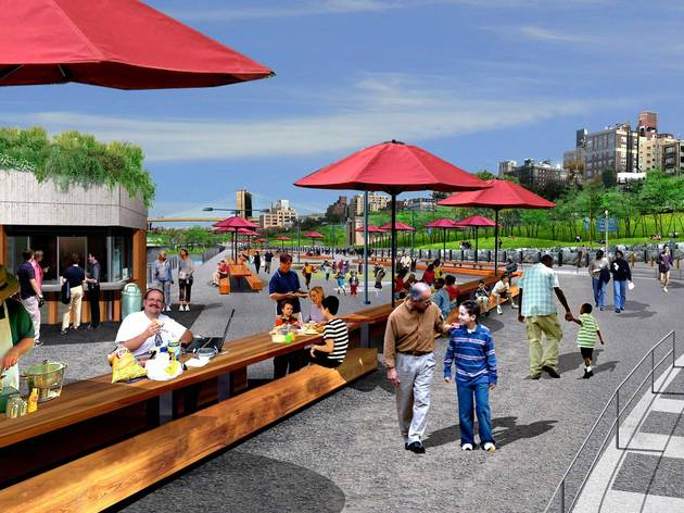 Brooklyn Bridge Park, Pier 5 (rendering)