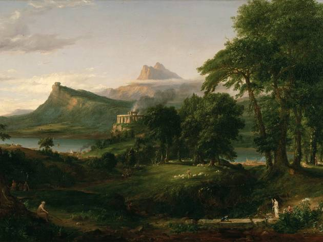 Thomas Cole, The Course of Empire - The Arcadian or Pastoral State