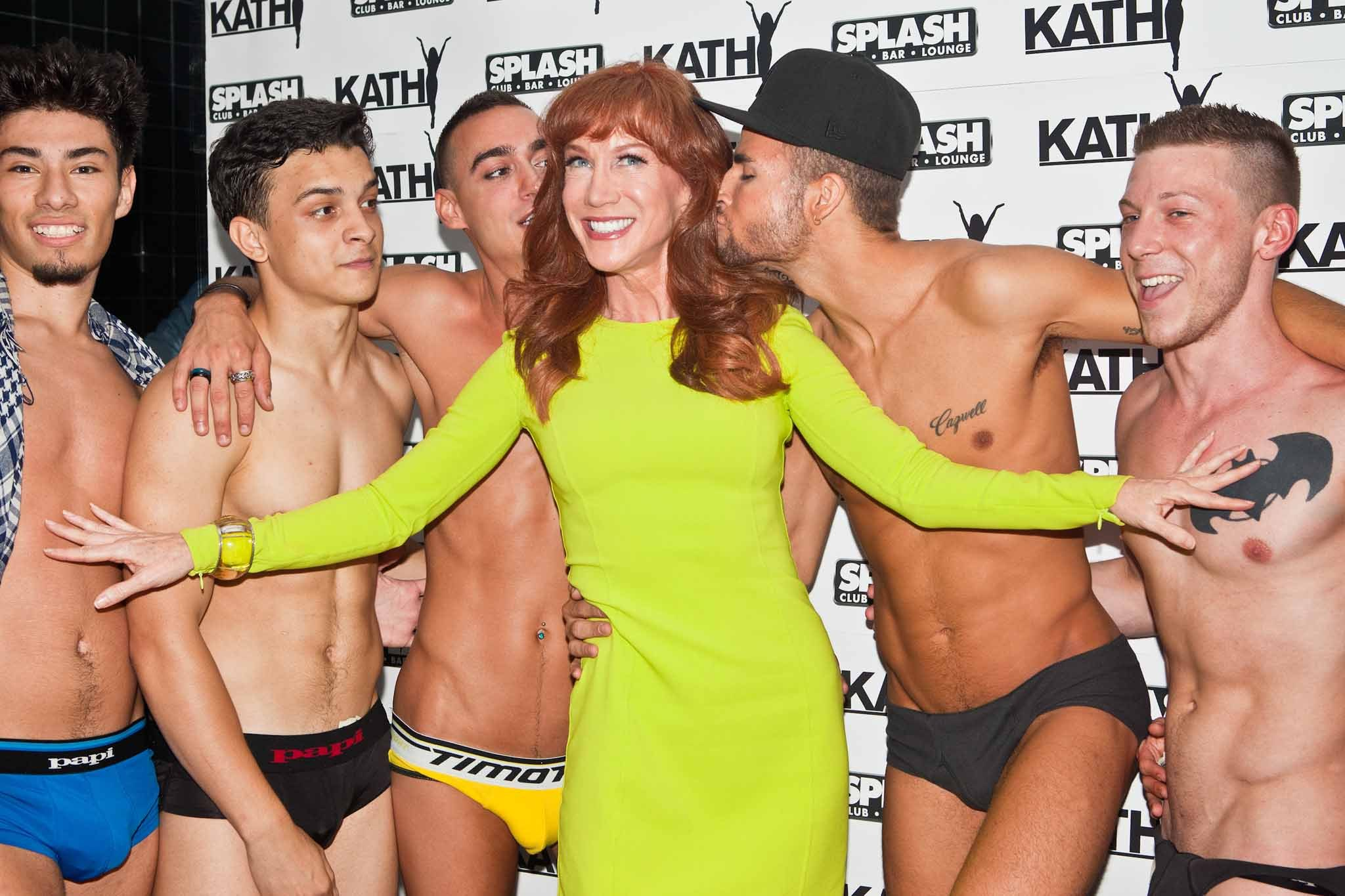 Kathy Griffin at Splash