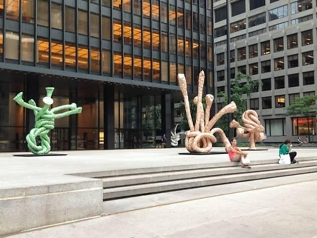 Gagosian Gallery Presents John Chamberlain Public Art