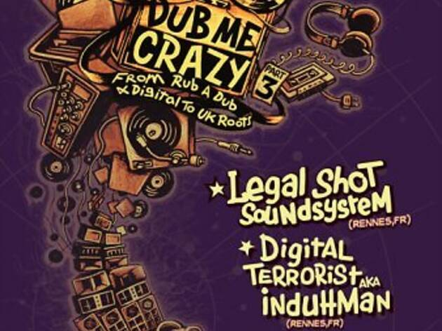 Legal Shot Sound System + Digital Terrorist