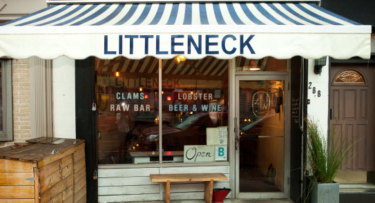 Slurp $1 oysters at Littleneck