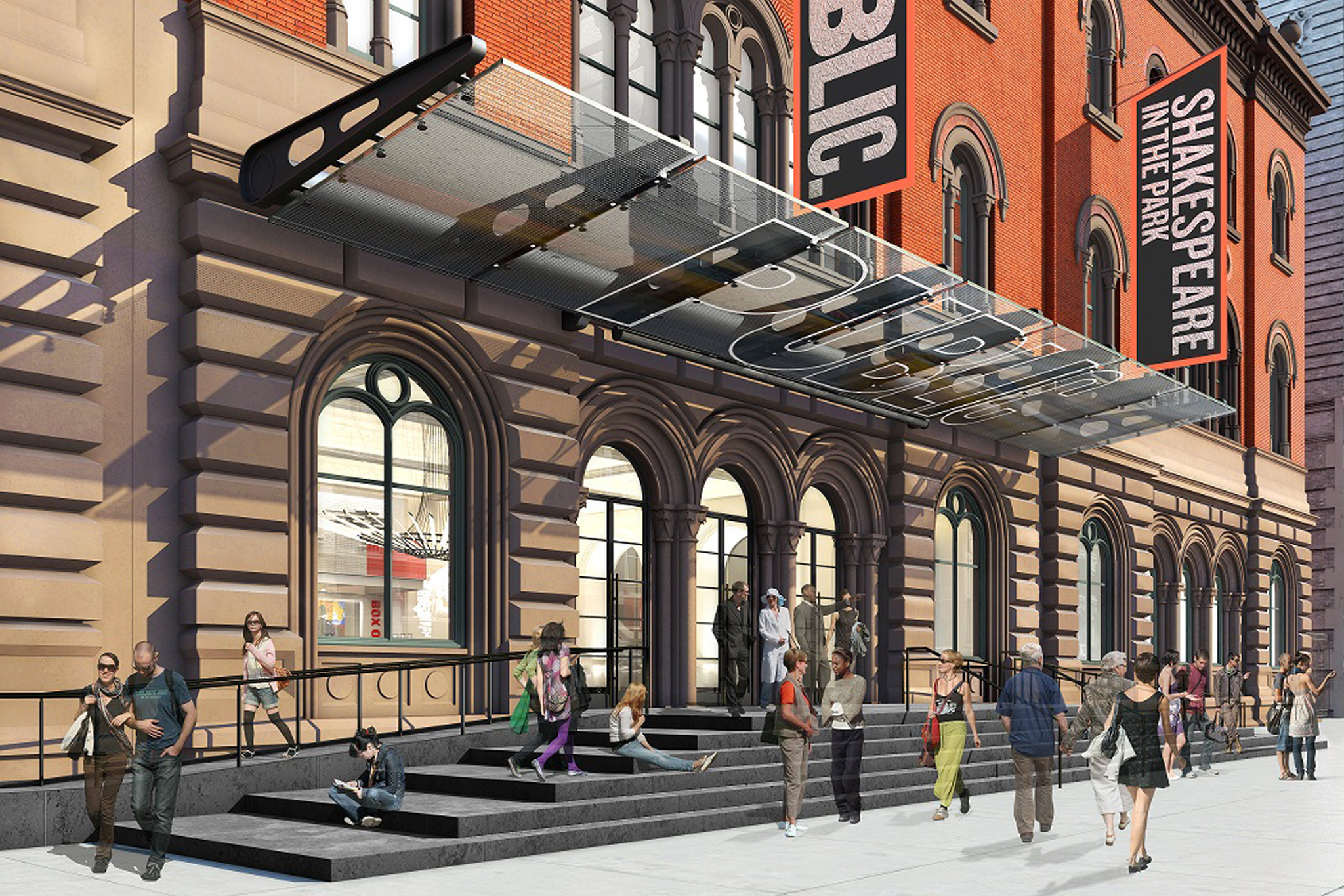 Check out the Public Theater's redone digs
