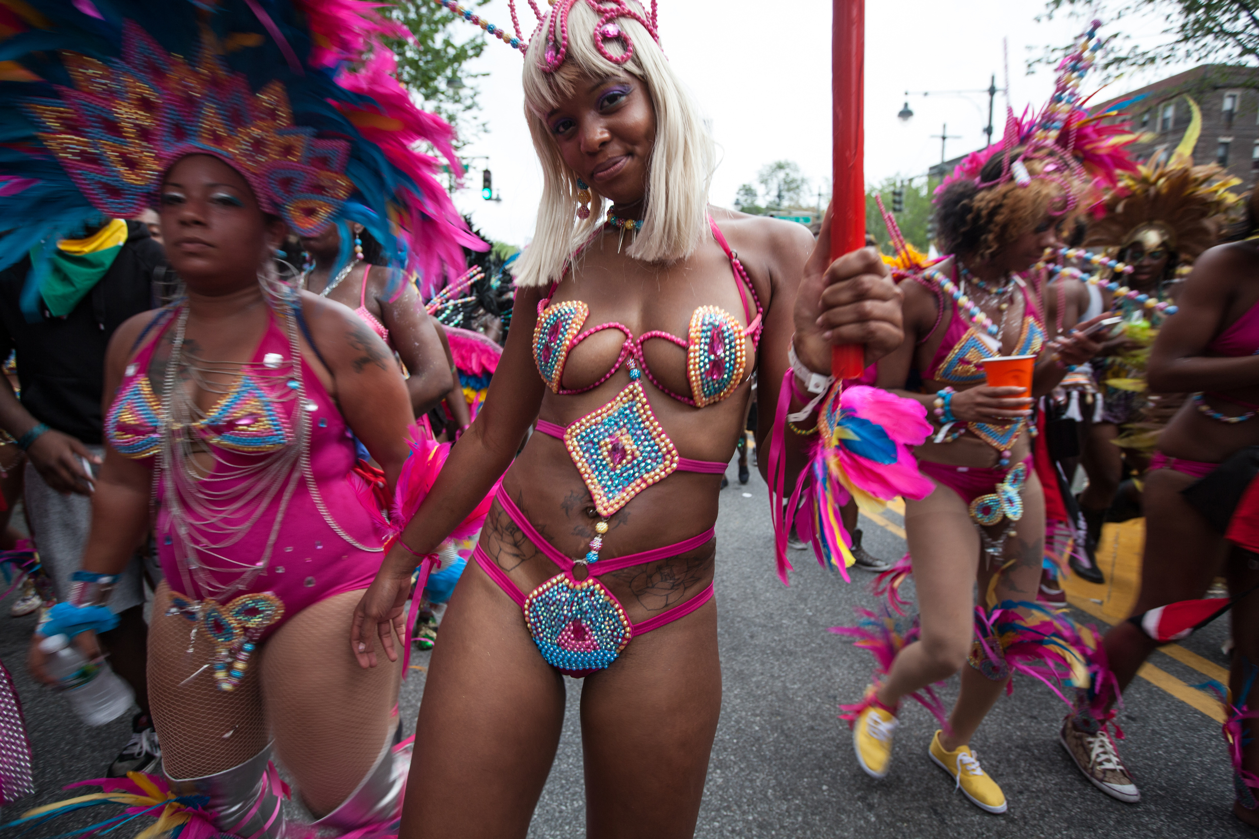 See out summer in a riot of color at the West Indian American Day Carnival