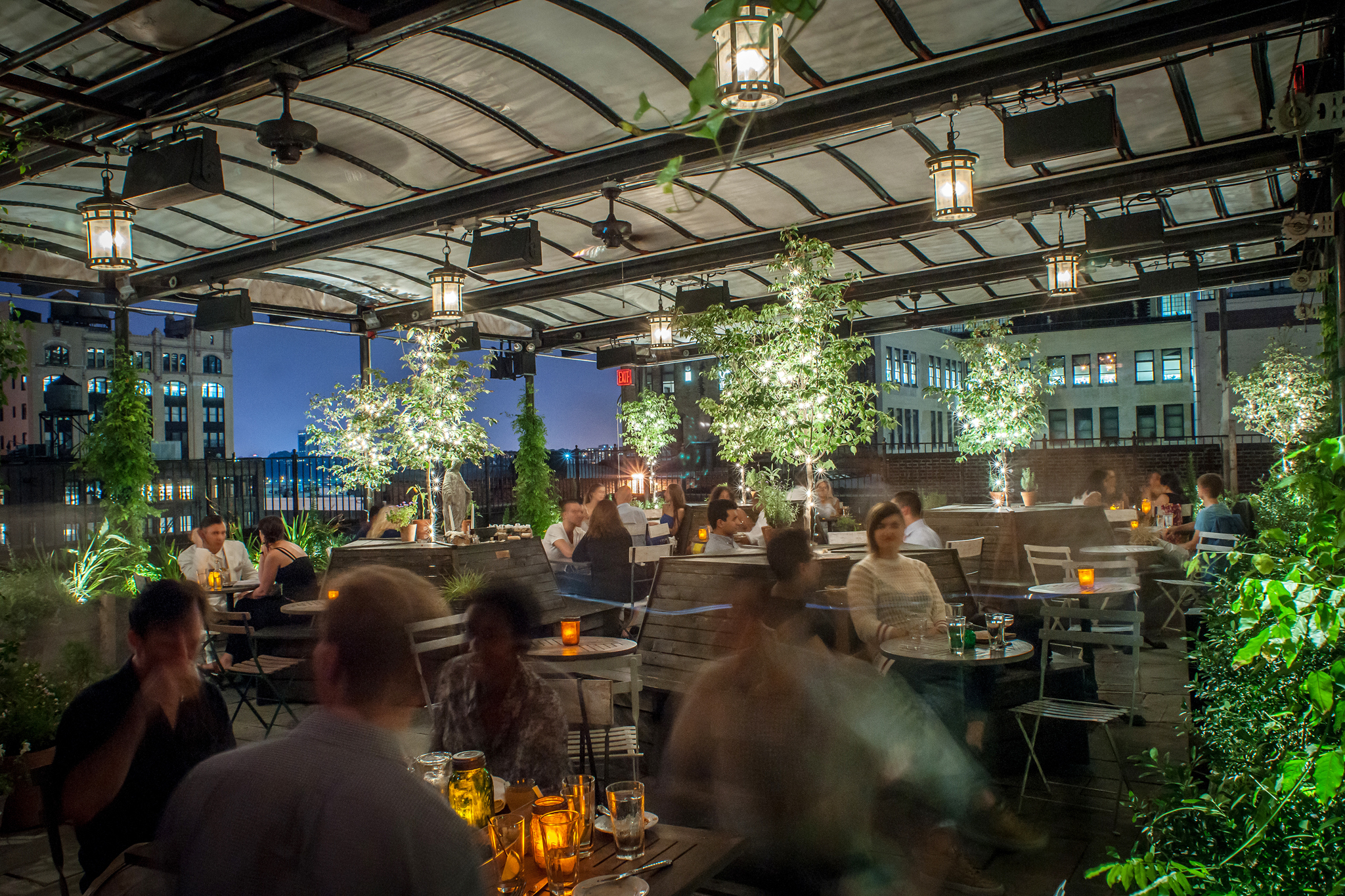 Indoor Garden Restaurant Nyc 15 best rooftop restaurants in nyc to try mile high meals workwithnaturefo