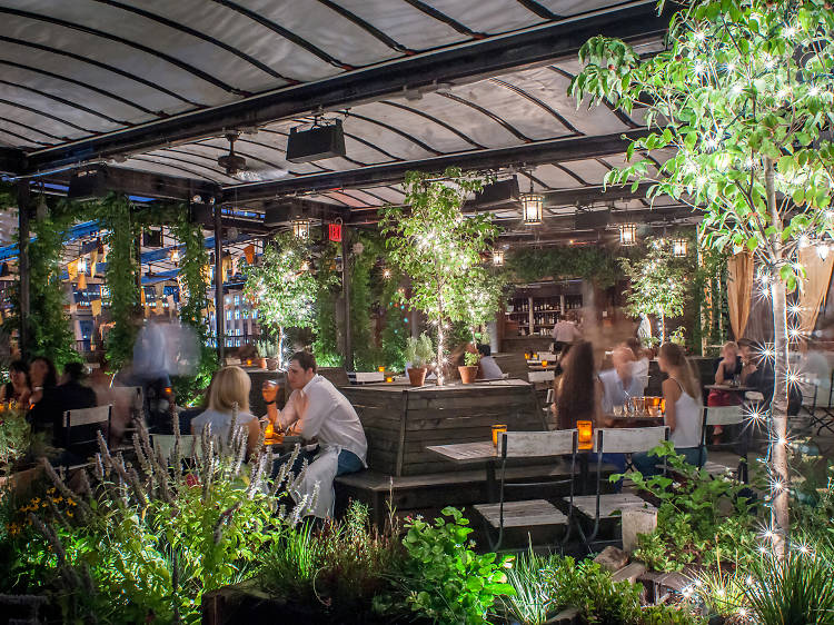 Have a rooftop tipple at Gallow Green