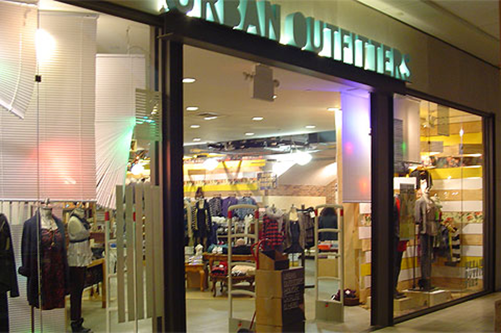 At Urban Outfitters you'll find ecclectic and trendy fashions for both women and men. Skinny jeans, colorful dresses and tees, shoes, accessories and handbags fill the shelves at Urban Outfitters locations. Head over to their apartment and home department for boho chic decor and stylish furniture.
