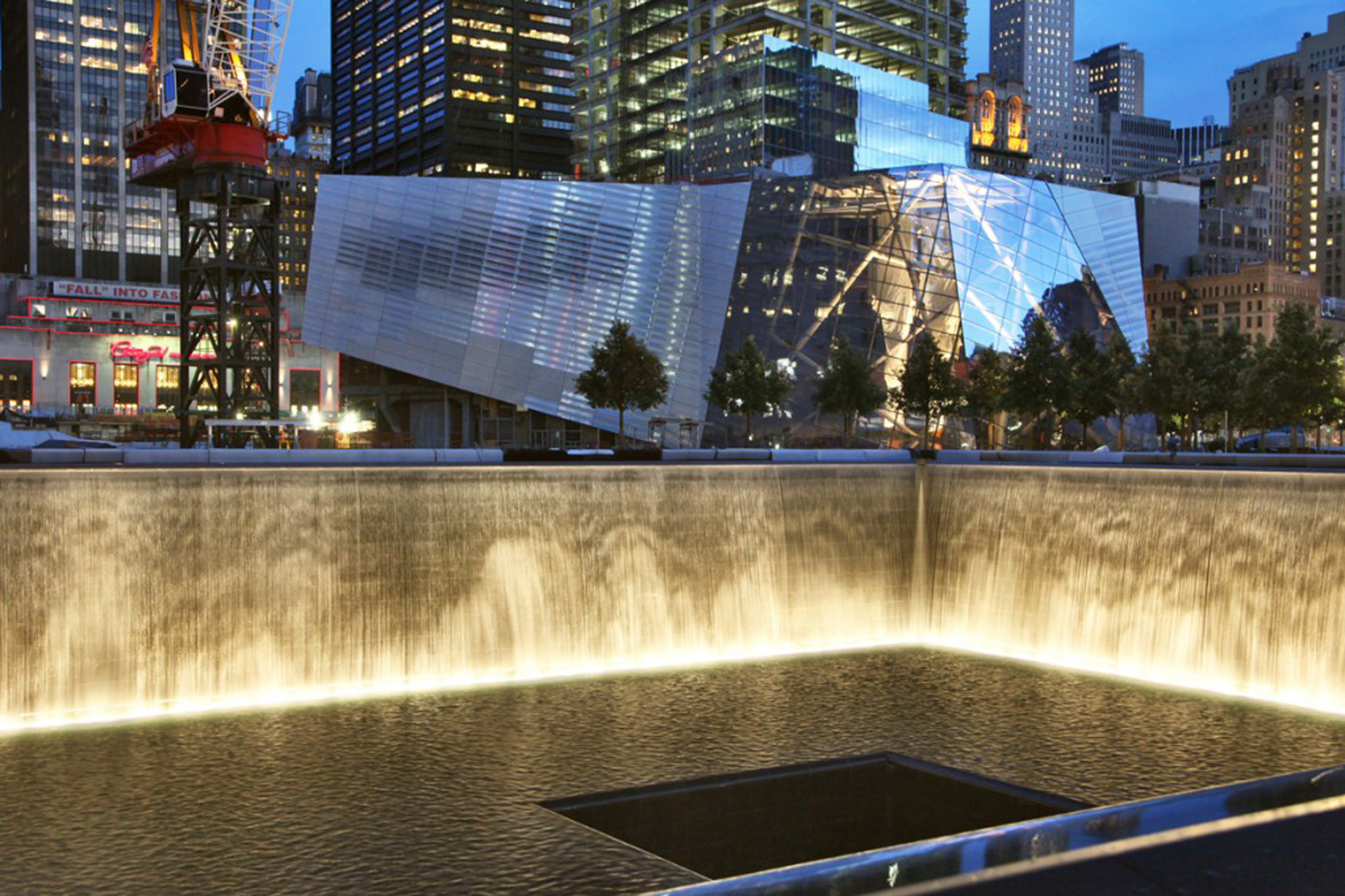 """Reflecting Absence"" The 9/11 Memorial"