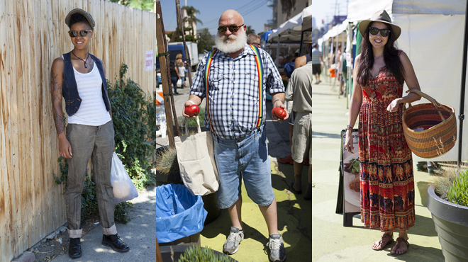 Street style: Silver Lake's best street fashions at Sunset Junction