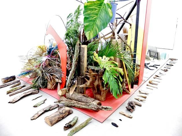 (Vue de l'exposition ('Robinson Crusoé') / © TB - Time Out)
