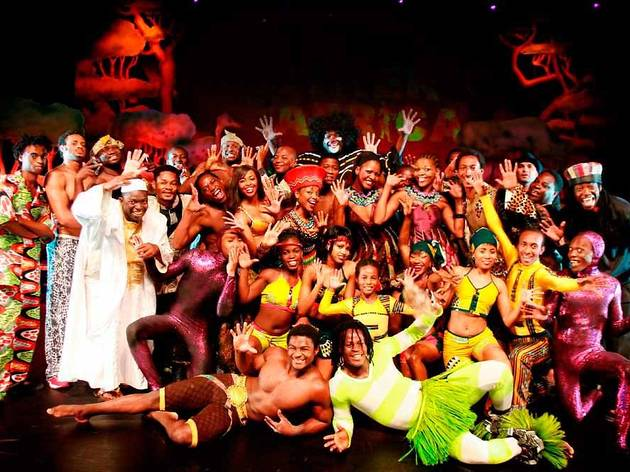 Etoiles du Cirque Africain : Cirkafrika