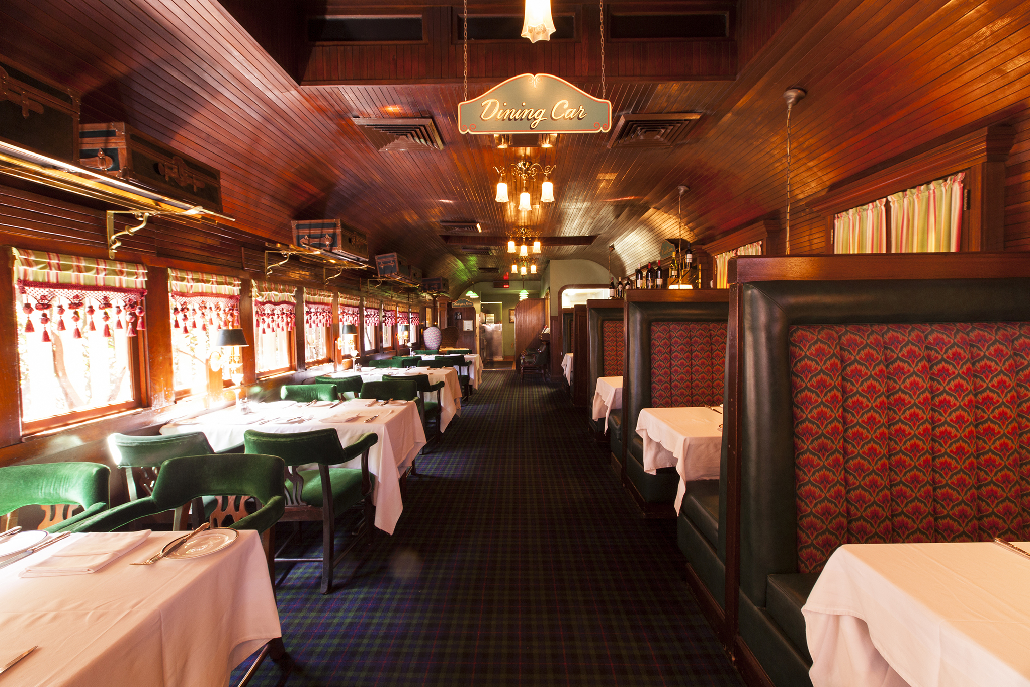 Classy couple: Pacific Dining Car