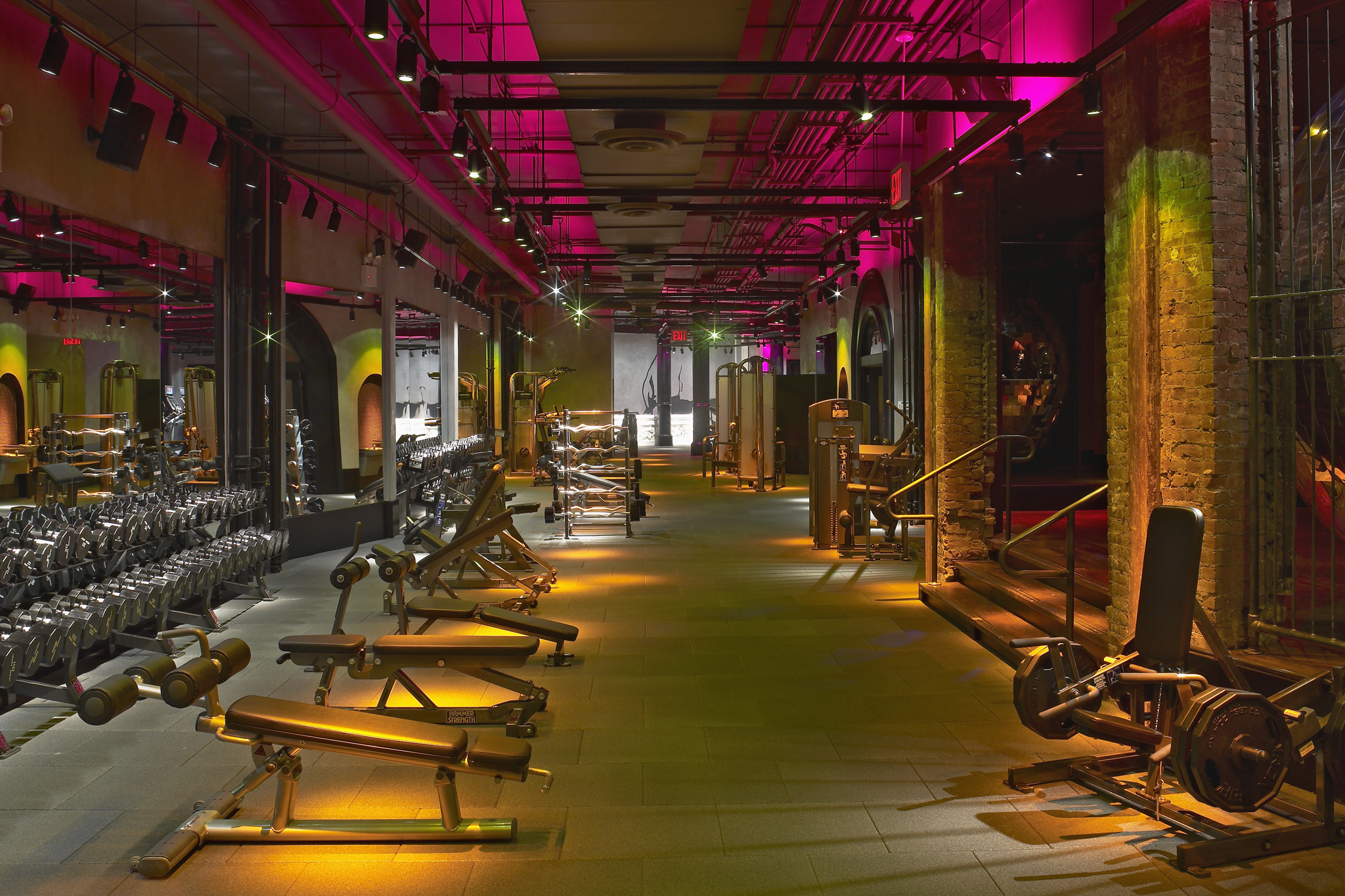 Whats The Best Gym For You Compare Major Gyms In New York City on Nightclub Interior Design