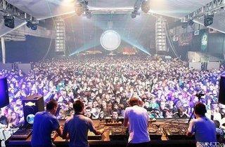 Techno Parade : Dirtyphonics + Zeds Dead + Mt Eden  + DJ Pone + DJ Gero + AK47